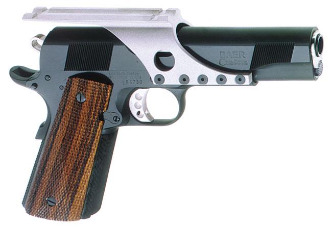 Considering a Nelson Custom Guns 1911 .22 conversion. Bullseye-wadcutter-w-mount